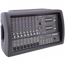 Mackie - 808 S 8 Kanallı Power Mikser