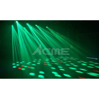 LED-MB200R Pageant Multi Ray Led Moving 12x10W