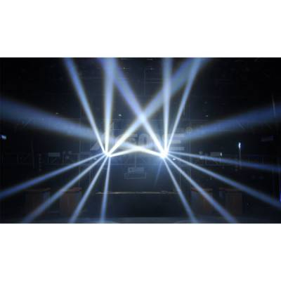 LED-MB8W Samba-W Multi Beam Beyaz 8x8W Movinghead