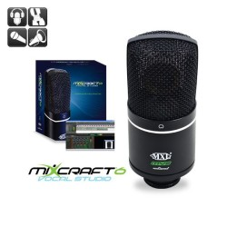 MXL Microphones - Acoustica MVS USB Kondenser Stüdyo Vokal Mikrofonu