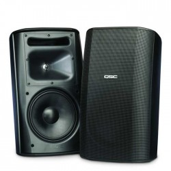 Qsc - AD-S82 (Siyah) Akustik Tasarımlı Duvar Tipi Hoparlör