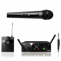 Akg - Wms 40 Mini2 - 1 El ve 1 Yaka Telsiz Mikrofon Seti