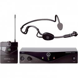Akg - WMS 45 Perception UHF Headset Mikrofon