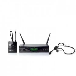 Akg - WMS 470 Sports UHF Çift Anten Headset Mikrofon
