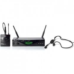 Akg - WMS 470 UHF Çift Anten Yaka ve Headset Mikrofon Seti