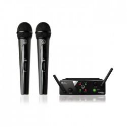 Akg By Harman - WMS40MINI2 VOC SET US45A/C Çift El Telsiz Mikrofon Seti