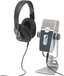 Akg By Harman - Podcaster Essentials Lyra USB mikrofon ve K371 Kulaklıklı Set