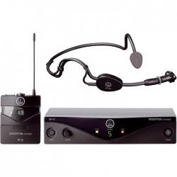 Akg - WMS 45 Perception UHF Headset Mikrofon