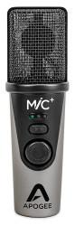 APOGEE - MiC+ Stüdyo kalitesinde Mac/Windows/iOS uyumlu, taşınabilir mikrofon 24-bit 96k