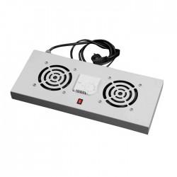 Asrack - A03RFNDT2 1U 2li Fan+Dijital Termostat Ünitesi