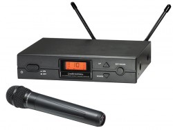 Audio Technica - ATW-2120A Unidirectional dinamik el tipi kablosuz mikrofon sistemi
