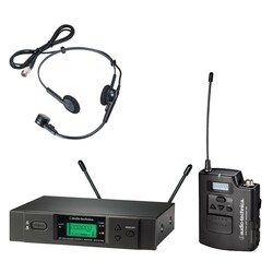 Audio Technica - ATW-3110B/H UniPak system with PRO8HEcW 52 channel