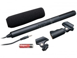 Audio Technica - ATR6550 Kondenser video kameralar için shotgun mikrofon