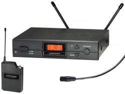 Audio Technica - ATW-2110A/P1 Sub-minyatür kardioid kondenser yaka / lavalier kablosuz mikrofon sistemi