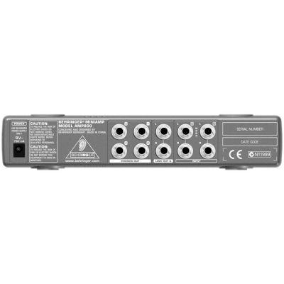 AMP800 4 Kanal Stereo Kulaklık Amfisi