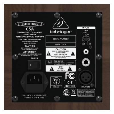 C5A 30 Watt Aktif Stüdyo için Referans Monitör