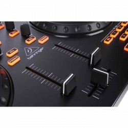 CMD Studio 4A 4 Deck ve 4 Kanal Midi DJ Kontrol Paneli - Thumbnail