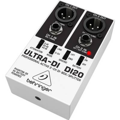 DI20 2 Kanal Aktif Splitter DI Box