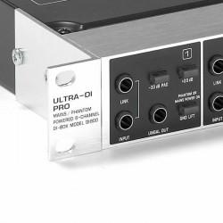 DI800 8 Kanal Mains Phantom Güçlü DI Box - Thumbnail