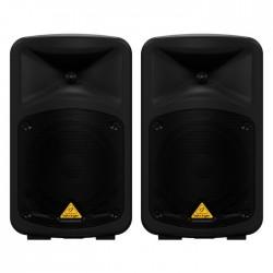Behringer - EPS500MP3 500 Watt 8 Kanal Kablosuz Portatif Paket Ses Sistemi
