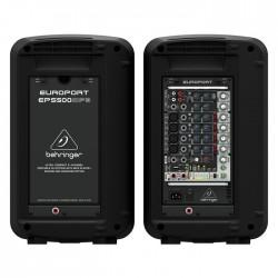 EPS500MP3 500 Watt 8 Kanal Kablosuz Portatif Paket Ses Sistemi - Thumbnail