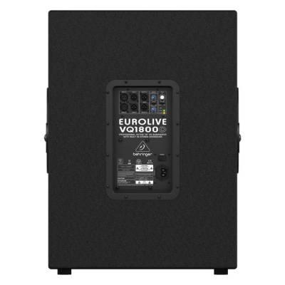 Eurolive VQ1800D 500 Watt Dahili Crossover Subbass