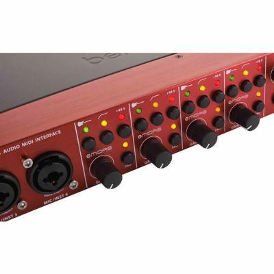 FCA1616 16 in 16 out Kanallı Midas PreAmfi Midi USB Ses Kartı