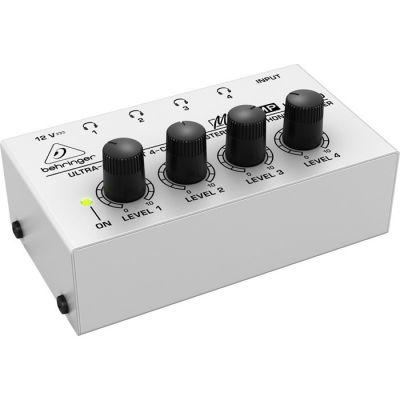 HA400 4 Kanallı Stereo Kulaklık Amfisi