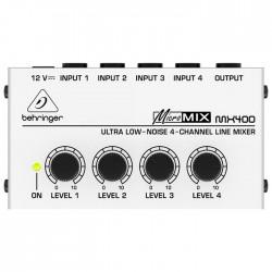 Behringer - Micromix MX400 4 Line Kanallı Mikser