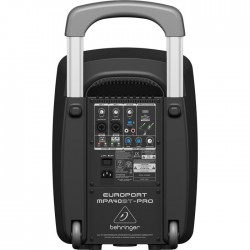 MPA40BT PRO 40 Watt Taşınabilir Kablosuz Portatif Kabin Ses Sistemi - Thumbnail