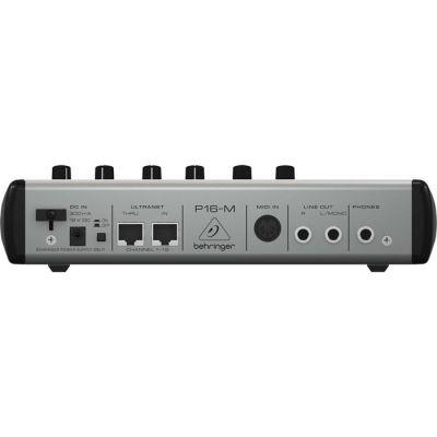 P16-M 16 Kanal Kişisel Dijital Mikser
