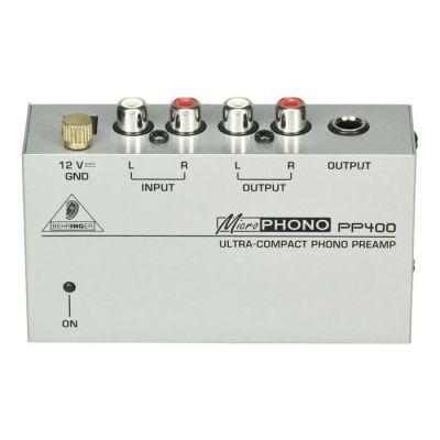 PP400 Phono Hoparlör PreAmfi