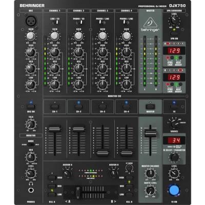 Pro Mixer DJX750 5 Kanallı Profesyonel Dj Mikseri
