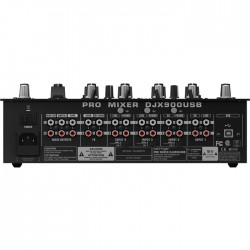 Pro Mixer DJX900USB 5 Kanallı Profesyonel USB Dj Mikseri - Thumbnail