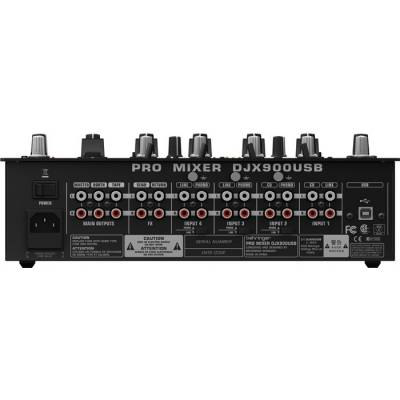 Pro Mixer DJX900USB 5 Kanallı Profesyonel USB Dj Mikseri