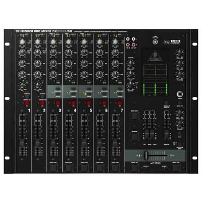 Pro Mixer DX2000USB 7 Kanallı Profesyonel USB Dj Mikseri