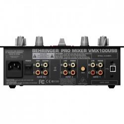 Pro Mixer VMX100USB Profesyonel USB Dj Mikseri - Thumbnail