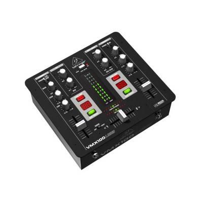 Pro Mixer VMX100USB Profesyonel USB Dj Mikseri
