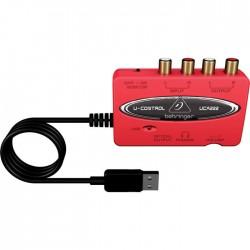 Behringer - UCA222 2 Kanal USB Harici Ses Kartı