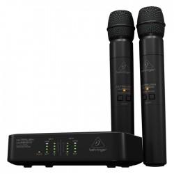 Behringer - Ultralink ULM200USB Dijital Kablosuz Vokal Mikrofon Seti (USB Alıcılı)