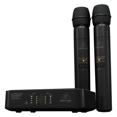 Ultralink ULM200USB Dijital Kablosuz Vokal Mikrofon Seti (USB Alıcılı)