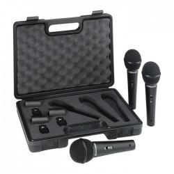 Behringer - Ultravoice XM1800S Dinamik Kardioid Vokal ve Enstrüman Mikrofon Seti (3lü)