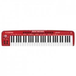 Behringer - UMX610 61 Tuşlu Dahili Ses Kartlı USB Midi Klavye