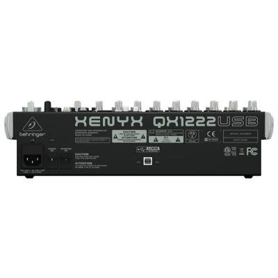 Xenyx QX1222USB 16 Kanallı USB Deck Mikser