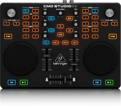 Behringer - CMD Studio 2A 2 Deck ve 2 Kanal Midi DJ Kontrol Paneli