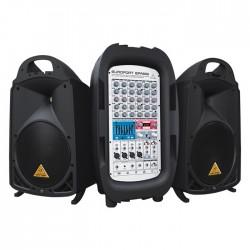 Behringer - EPA900 900 Watt 8 Kanal Taşınabilir Ses Sistemi
