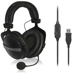 Behringer - HLC660U Mikrofonlu Stereo Kulaklık - USB Bağlantı