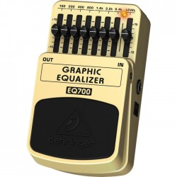 Behringer MI - EQ700 Ultimate 7-Band Graphic Equalizer Pedal