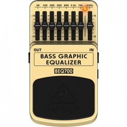 Behringer MI - BEQ700 Bass Gitar için Ekolayzer Pedal