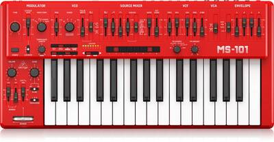 MS-101-RD Analog Synthesizer with 32